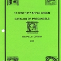 Catalog of 1917 13 cent Apple Greens, (2006)