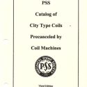 Catalog of City Type Coils precanceled by coil machines, (2011)