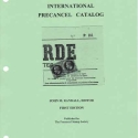 International Precancel Catalog, 1st Ed, (2005)