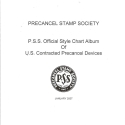 Album Pages for PSS Style Chart (2007)